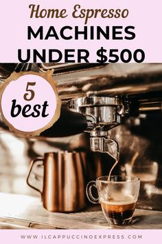 automatic espresso machine Want to elevate your daily espresso? Discover the best espresso machines under 500 for home use and pull your shots like a barista with advanced features. Best Home Espresso Machine, Automatic Espresso Machine, Coffee Nook, Coffee Club, Coffee Coffee, Coffee Type, Best Coffee, Coffee Presentation, Coffee Counter