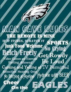 1000 Images About Philadelphia Eagles Rooms amp Wo Man