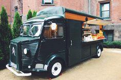 Intelligentsia Modern Antique Coffee Cafe Truck