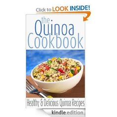 Quinoa cookbook - Kindle freebie (as of 5/2/2013). These don't always stay free for long, so download it now!
