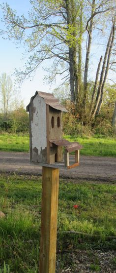 Hey, I found this really awesome Etsy listing at https://www.etsy.com/au/listing/287003543/rustic-birdhouse