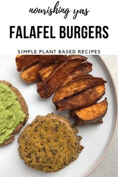 Falafel Burgers - Nourishing Yas
