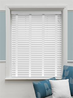 Satin Pure White Wooden Venetian Blinds - Utility Room              Shelley Sass Designs   INTERIOR DESIGN. REMODELING. HOMESTAGING http://www.shelleysassdesigns.com 858-255-9050 shelleysassdesigns@gmail.com