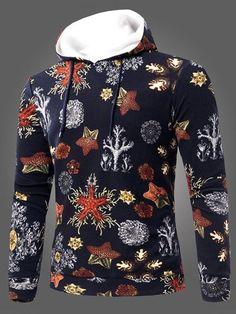 Heless Mens Casual Long Sleeve Pockets Zip Front Regular Fit Hooded Sweatshirt Jacket