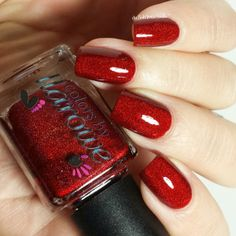 Colors by llarowe The Mighty Red Baron by @delishiousnails.
