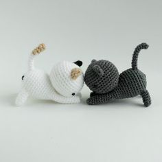 Amigurumi Kitten Neko Atsume - FREE Crochet Pattern / Tutorial