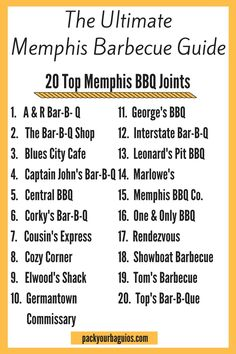 Memphis barbecue | Memphis | barbecue | ribs | pulled pork