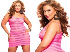Pink Seven Til Midnight Women's Plus Size Riot Girl