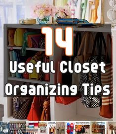 14 Useful Closet Organizing Tips
