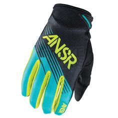 2015 Answer Syncron Gloves - Teal Green