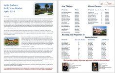 Santa Barbara Real Estate Market Update - April 2014 #jonmahoney #santabarbara #realestate