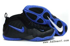 Nike Air Foamposite Pro Black Blue - Penny Hardaway Shoes Hot