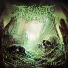 The Beginning Of The End (EP) cover art  Band: Acrania Artwork by Par Olofsson