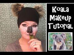 Thanks for watching my first makeup tutorial. Quick Halloween Costumes, Easy Diy Costumes, Halloween Town, Halloween Cosplay, Bear Makeup, Animal Makeup, Kids Makeup, Makeup Art, Moon Costume