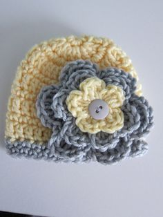 Crochet Premie baby hat