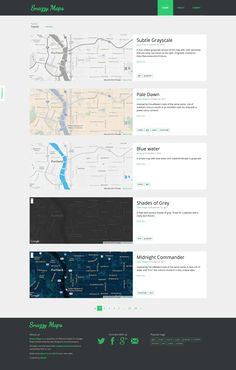 Snazzy Maps – styles for Google Maps