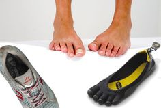 Bare foot running info