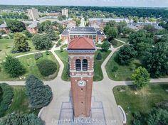 University of Northern Iowa in Cedar Falls, Iowa.
