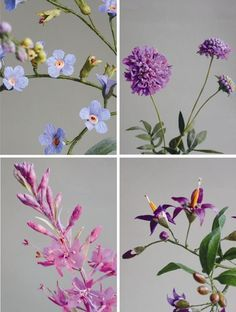 Jude Miller is an artist who uses the crepe paper and Some materials to do so pretty fantastic flowers That Do not seem artificial. She Creates But Also wild greenhouse flowers, from England, North America and New Zealand.
