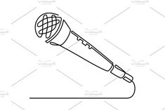 Continuous Line Drawing of Vector wired microphone icon thin line for web and mobile, modern minimalistic linear design. Music Tattoo Designs, Music Tattoos, Small Tattoo Designs, Small Tattoos, Tiny Tattoo, Microphone Drawing, Microphone Tattoo, Am Laufenden Band, Dancer Tattoo