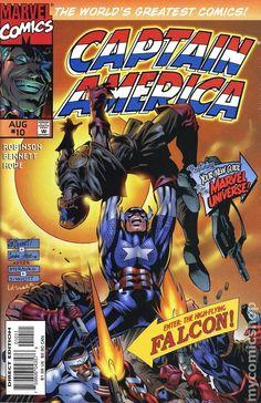 Captain America (1996 Marvel 2nd Series) 10