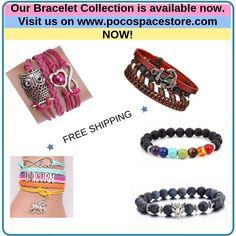 Bracelet Collection now available @pocospacestore  www.pocospacestore.com Beaded Bracelets, Collection, Jewelry, Jewlery, Jewerly, Pearl Bracelets, Schmuck, Jewels, Jewelery