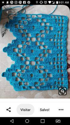 Crochet Patterns Filet, Lace Knitting Patterns, Crochet Designs, Crochet Stitches, Knit Crochet, Crochet Boarders, Crochet Lace Edging, Crochet Doilies, Crochet Crafts