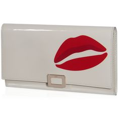 ROGER VIVIER Mini Buckle Clutch In Patent Leather. #rogervivier #bags #shoulder bags #clutch #patent #hand bags