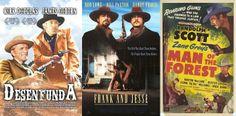 Col·lecció Cine del Oeste: Frank & Jesse / El hombre del bosque, basada en una novel·la de Zane Grey  / Desenfunda
