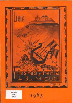 Cubierta Libro de Fiestas de 1965