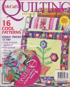 McCall's Quilting Magazine (July/August 2012) « Library User Group