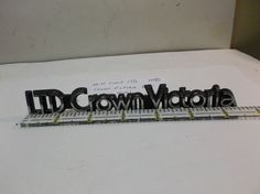 GRILLE-TRUNK EMBLEM-Ford LTD Crown Victoria-trunk-grille-Emblem-logo-1485 #FORDLTDCROWNVICTORIA