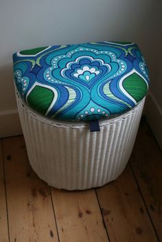 The Upholstery Cabin - Laundry Bin, Box Bed, Upcycling Ideas, Outdoor Furniture, Outdoor Decor, Loom, Wicker, Upcycle, Nostalgia