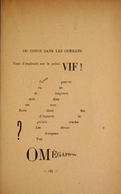 1918 - Calligrammes; poèmes de la paix et da la guerre, 1913-1916 .. by Apollinaire, Guillaume, 1880-1918
