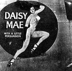 Consolidated B-24M-1-CO, s/n 44-41845, DAISY MAE WITH A LITTLE PERSUASION, 22 BG 2 BS