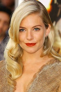 Curly Hairstyles for Women  Sienna Miller's Curly Hairstyle