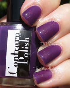 Contrary Polish Darling Wildflower (May 2014 A Box, Indied)