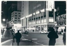 1973 TIMES SQUARE vintage photo Times Tower 43rd 42nd street NYC New York City 1970s News Zipper
