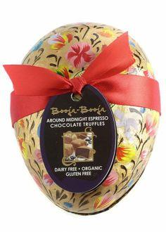 BOOJA BOOJA Espresso Truffles Wooden Egg 34.5g