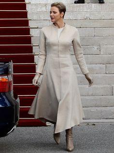 charlene-cp-14z Royal Fashion, High Fashion, Womens Fashion, Street Fashion, Princesa Charlene, Princess Style, Princess Fashion, Estilo Real, Charlene Of Monaco