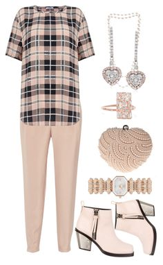 """Rose Gold"" by bren-johnson ❤ liked on Polyvore featuring TIBI, Equipment, The Pearl Quarter, Ross-Simons, Giuseppe Zanotti, Glam Cham, Emporio Armani and Suzanne Kalan"