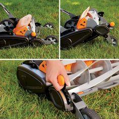 Fiskars StaySharp Max Reel Mower Types Of Grass, Grass Type, Garden Equipment, Outdoor Power Equipment, Reel Lawn Mower, Lawn Fertilizer, Blade Sharpening, Lawn Maintenance, Wheelbarrow