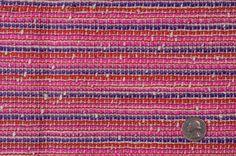 FW12115C Fuchsia/Purple/Natural/Red Stripes Marc Jacobs Boucle    skirt  dress  jacket
