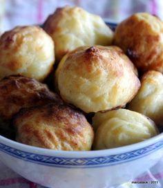 Mini-gougères au comté | Recettes de cuisine | marciatack.fr