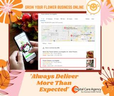 It's not easy to rank high in local search and it doesn't always happen fast but this much is true -it's totally worth it! Flowers are perishable in nature and start to lose their freshness very soon. We use digital marketing opportunities to generate momentum without compromising price or positioning for the premium brands we serve. #seoexpert #searchengineoptimization #dca #hightraffic #webdevelopment #marketing  #florist#services #flowerdelivery #flowers Care Agency, Website Optimization, Marketing Opportunities, Same Day Flower Delivery, Professional Website, Premium Brands, Digital Marketing Services, Web Development, Online Business