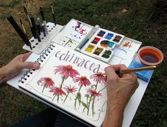 Everyday Artist: The Perfect Plein Air Sketching Setup.  Gotta make one of these!