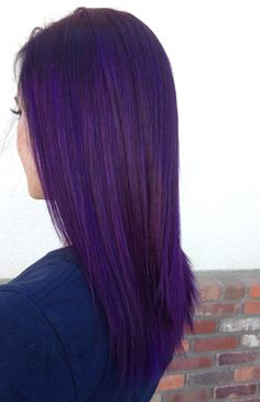 Purple hair. Pravana violet.