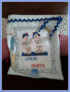 Pochon de toilette pour Finette & Loulou