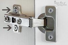 How to Align Cabinet Doors • Queen Bee of Honey Dos