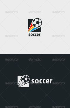 Soccer Logo — Vector EPS #played #training • Available here → https://graphicriver.net/item/soccer-logo/6995994?ref=pxcr